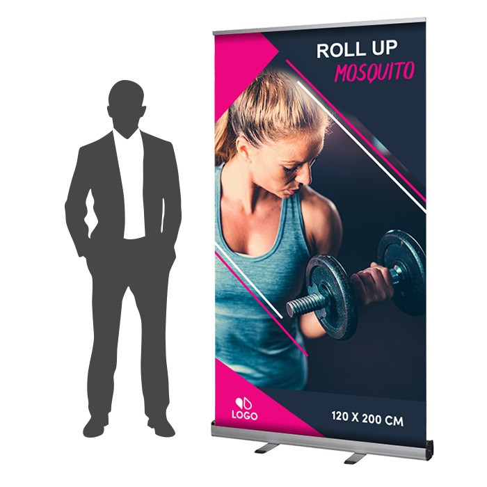Roll Up Mosquito Recto 120 x 200 cm – 2 ex