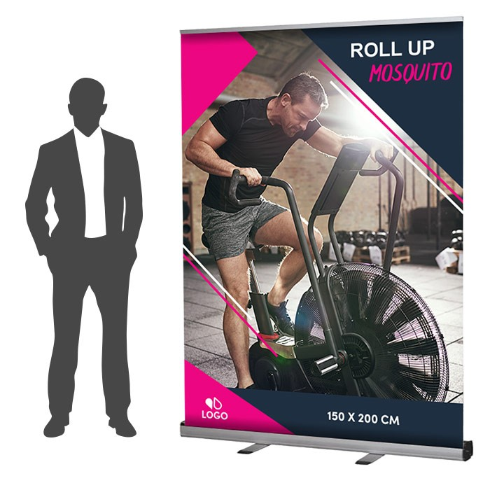 Roll Up Mosquito Recto 150 x 200 cm – 4 ex