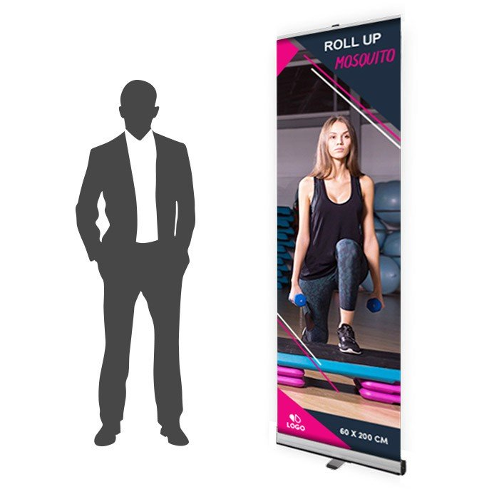 Roll Up Mosquito Recto 60 x 200 cm – 10 ex