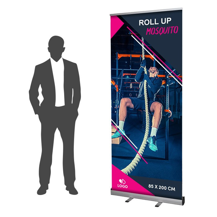 Roll Up Mosquito Recto 85 x 200 cm – 2 ex