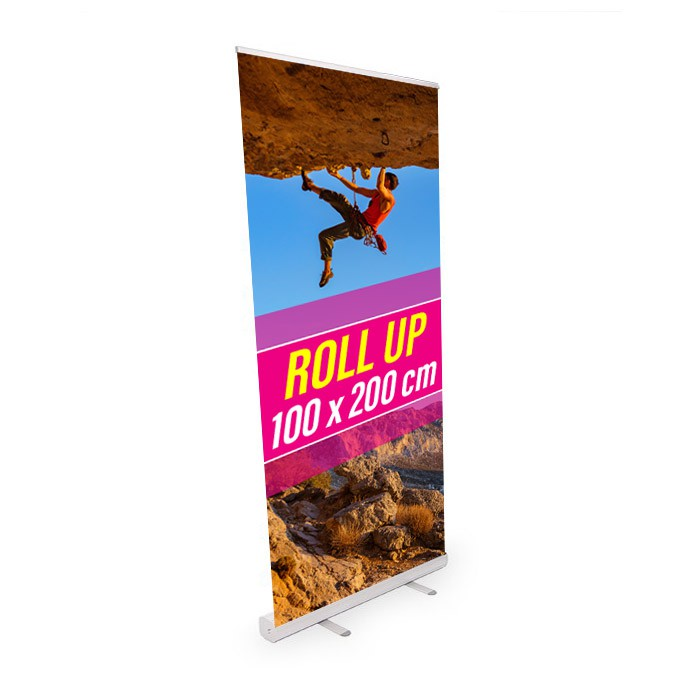 Roll UP Eco recto 100 x 200 cm – 5 ex