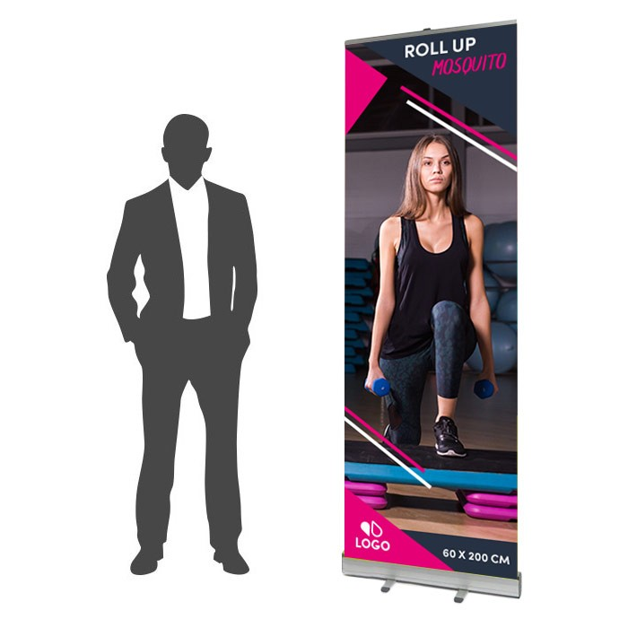 Roll Up Mosquito Recto 60 x 200 cm - 1 ex