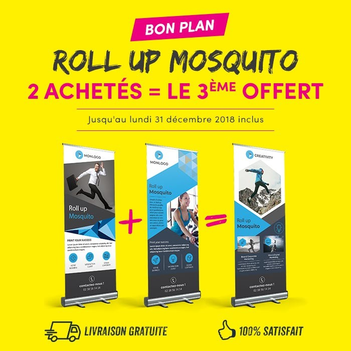 Roll up mosquito