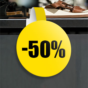 Stop-rayons spécial soldes